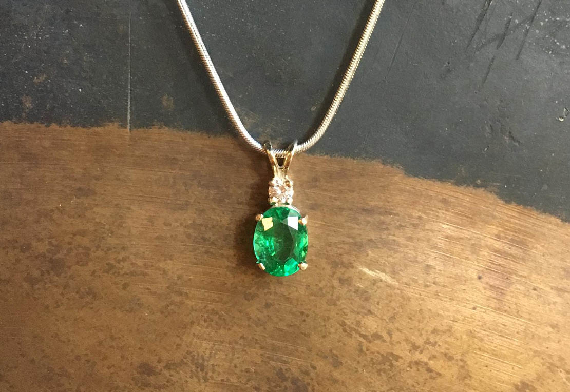 the and pendant pendants for love money emerald product of natural